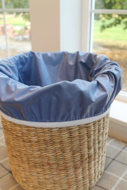 Grote waszak met elastische band