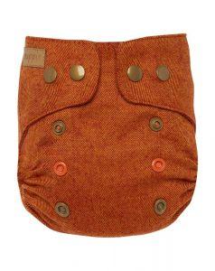 Nightfall Mini One Size drukknoopjes wolbroek Puppi wool cover