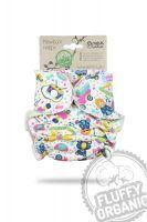 Fluffy Organic newborn luier Speelparadijs Petit Lulu