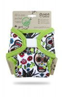 Mexicaanse Schedels Wit pocketluier Petit Lulu klittenband