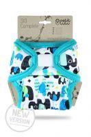 SIO Compleet Olifantjes Blauw Klittenband