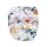 Sunshine Floral Bare and Boho Bamboe SIO luier