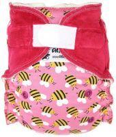 Bijtjes Roze Anavy klittenband