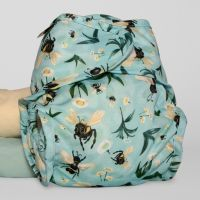 Bumble Bee Blues overbroekje Little Lamb wrap