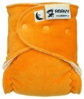 Maxi/Night Oranje Anavy Drukknoopjes