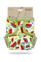 Meloenen One Size overbroekje Petit Lulu drukknoopjes