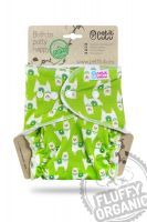 Maxi Night Fluffy Organic Alpaca's drukknoopjes