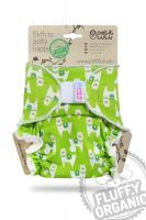 Fluffy Organic Maxi/Night Alpaca's Klittenband Petit Lulu