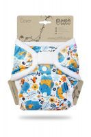 One Size overbroekje Nijlpaarden Petit Lulu klittenband