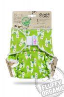 Alpaca's Fluffy Organic bamboeluier One Size klittenband