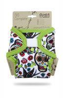 Mexicaanse Schedels Wit SIO Compleet klittenband Petit Lulu