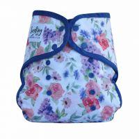 Comodo Wrap Plus Mumma's Garden Navy Seedling Baby