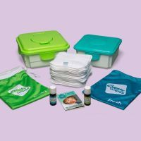 Cheeky Wipes kit met bamboe of katoen complete set