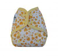 Comodo Wrap Mini Yellow Hearts Seedling Baby