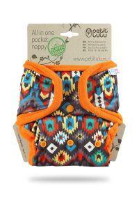 Pocketluier Petit Lulu Etno, drukknoopjes