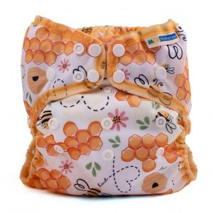 Mother-ease Wizard Uno Stay-Dry Bee Kind