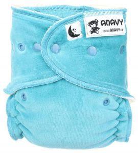 Lavendelroze Anavy XL Maxi/Night drukknoopjes