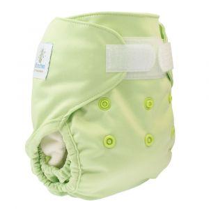Groen newborn overbroekje Blümchen
