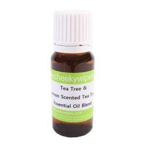 Tea Tree en Tea Tree Citroen essentiële olie Cheeky Wipes