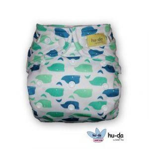 Hu-Da One Size overbroekjes walvis