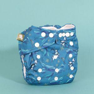 One Size pocketluier Into the Blue Little Lamb