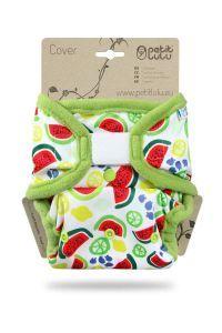 One Size overbroekje Meloenen Petit Lulu klittenband
