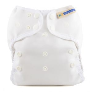 Mother-ease Wizard Uno Stay-Dry White