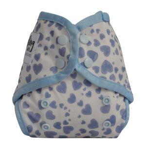 Mini-Fit pocketluier Blue Hearts Seedling Baby