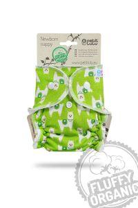 Fluffy Organic newborn luier Alpaca's Petit Lulu