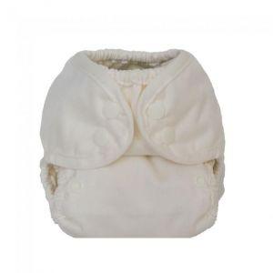 Cream newborn overbroekje Buttons