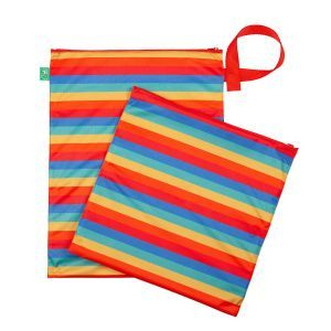 TotsBots Dubbele luierzak Rainbow Stripe