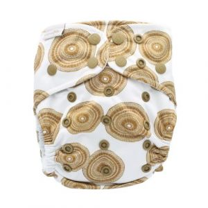 Gugin Bujerum One Size Recycled Bare and Boho hennep luier