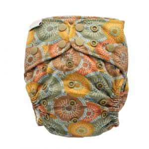 Moiyum Durung One Size Recycled Bare and Boho hennep luier