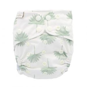 So Sage One Size Recycled Bamboe luier Bare and Boho