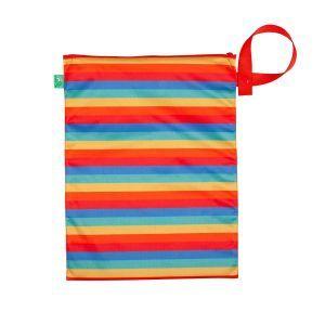 Rainbow Stripe wetbag/luierzak van TotsBots