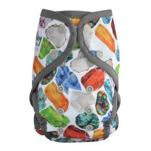 Paddle Pants Birthstone Grey Zwemluier Seedling Baby
