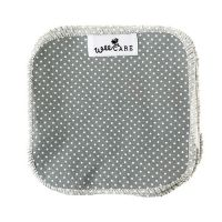Dots Dusty Blue billendoekjes van WeeCare